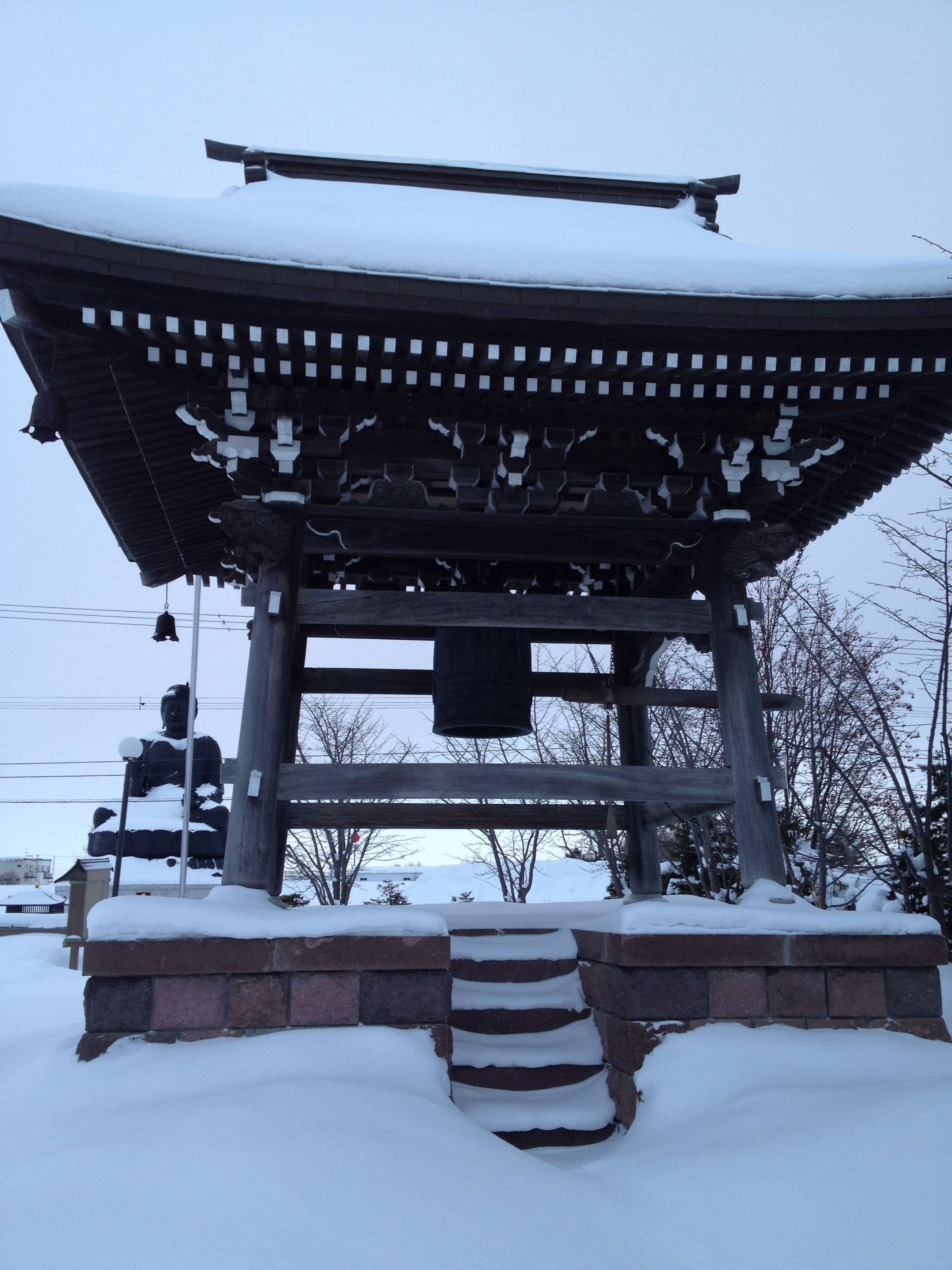 Bell of Daishoji (temple) in Sapporo, Hokkaido, Japan   Cool Shots ...
