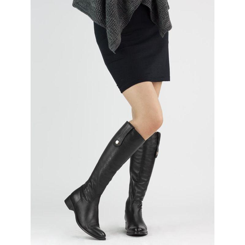 Kozaki Nessi Damskie Boots Fashion Heels