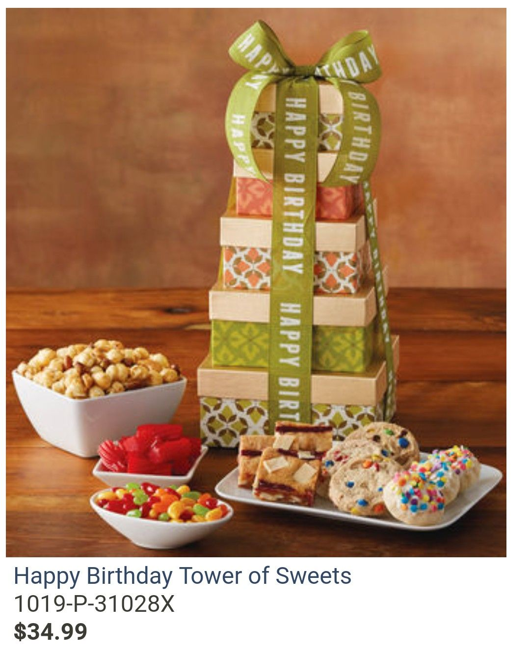 Birthday Bash Happy Gifts Gift Delivery Gourmet