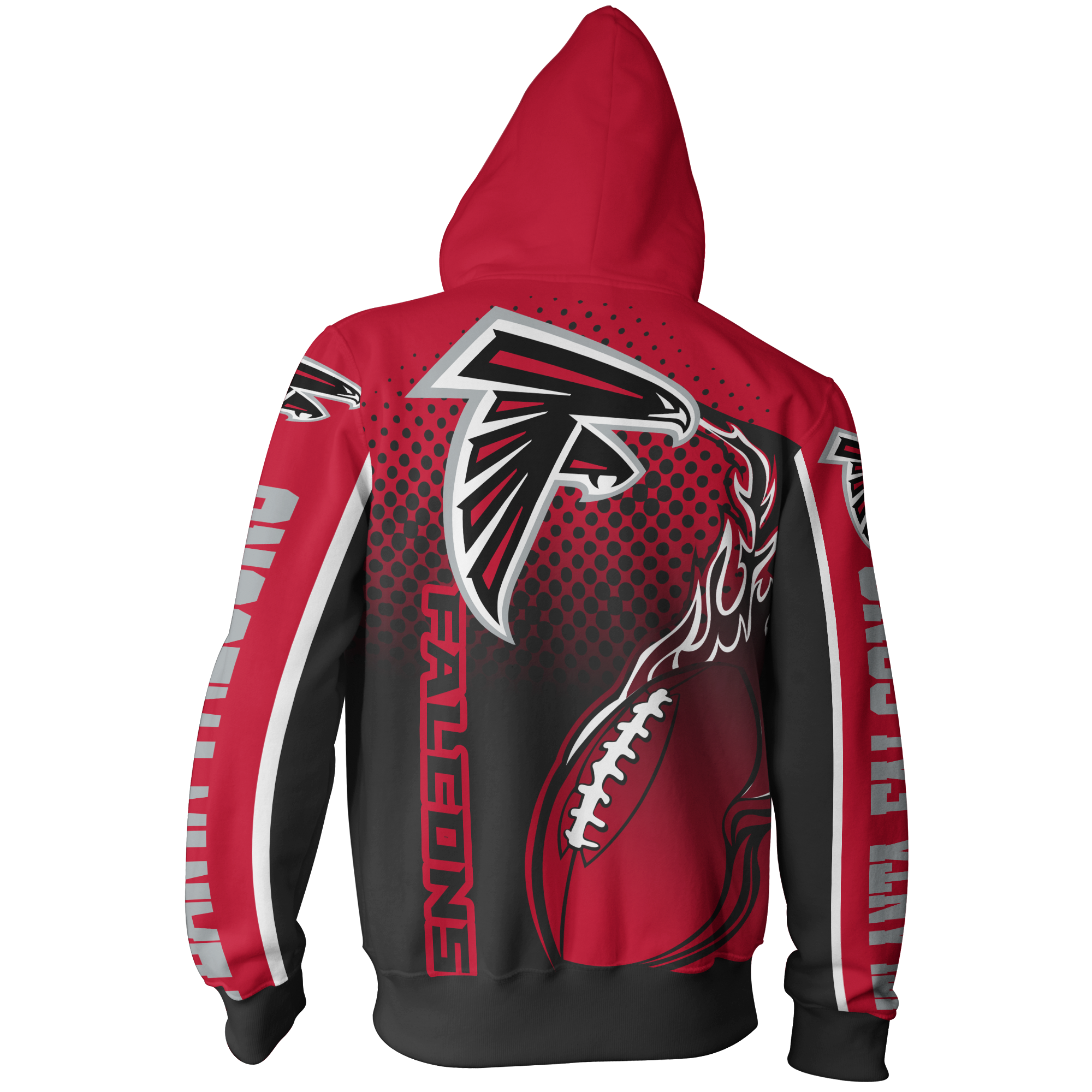 Men Women Atlanta Falcons 3d Zipper Hoodie Atlanta Falcons Zipper Hoodie Nfl Atlanta Falc Atlanta Falcons Clothes Atlanta Falcons Atlanta Falcons Gear