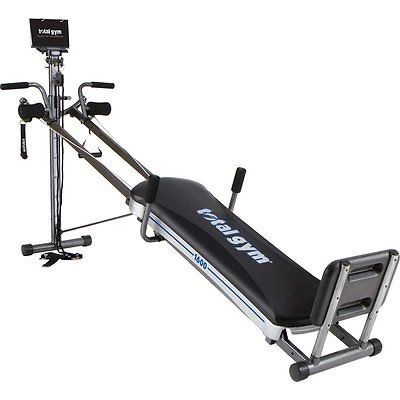 New Total Gym 1600 Home Work Out Machine 60 Exercises Strength Core Training