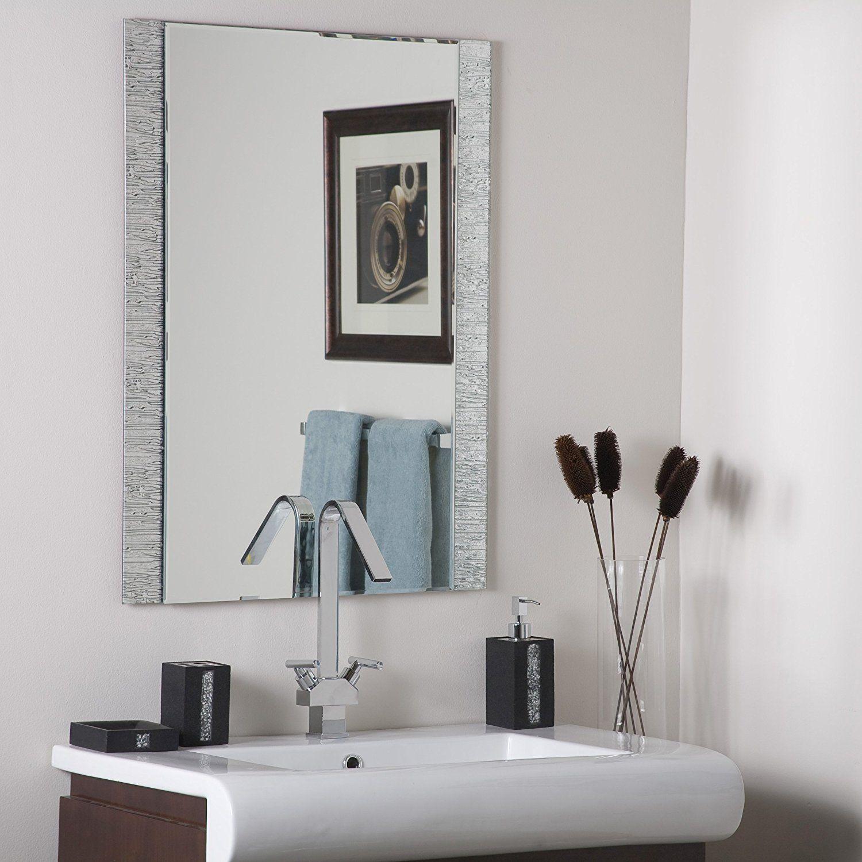 Decor Wonderland Frameless Molten Wall Mirror * You can find out ...