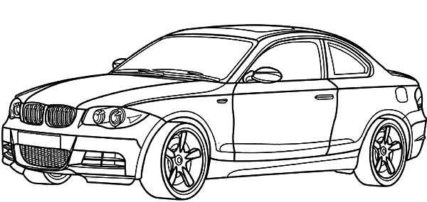 BMW Car 1 Series Coloring Pages  Best Place to Color ...