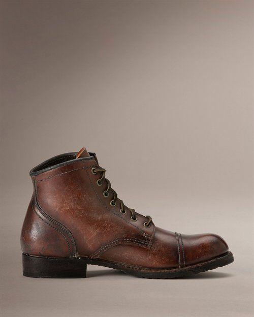 Mens Frye Men's Logan Cap Toe Boot On Sales Size 44