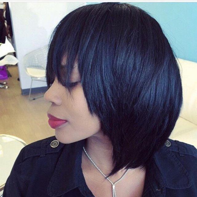 Friday's are better with A beautiful #sewin #bob with @trueandpuretexture  #bodywave.  #hairbysalonpk #razorcut #protectivestyles #jacksonvilleflorida #Atl #claycounty #duvalcounty #modernsalon