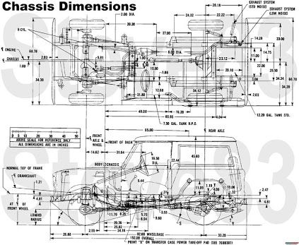 early bronco frame dimensions | damnxgood.com mitc wiring diagram #14
