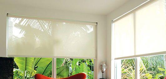 Motorized Sheer Weave Cordless Solar Sun Shades Selectblinds Com Solar Roller Shade Solar Screens Roller Shades