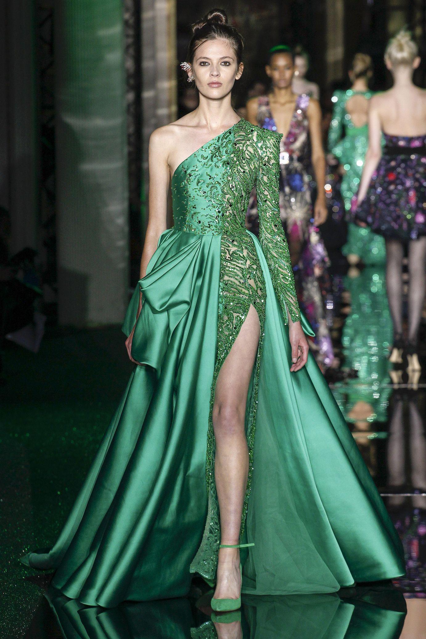 Défilé Zuhair Murad: Haute couture printemps-été 2017 | Vestido ...