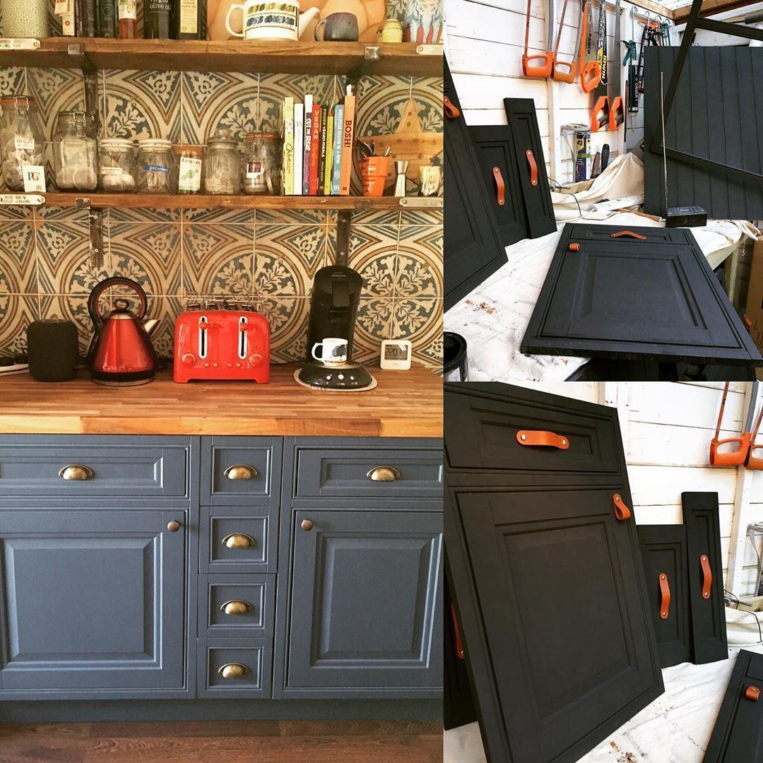 Upcycling Kitchen Cabinets And Units Upcyclingfurniture Upcycling Farrowandball Upcycled Furniture Kitchen Cabinets Kitchen