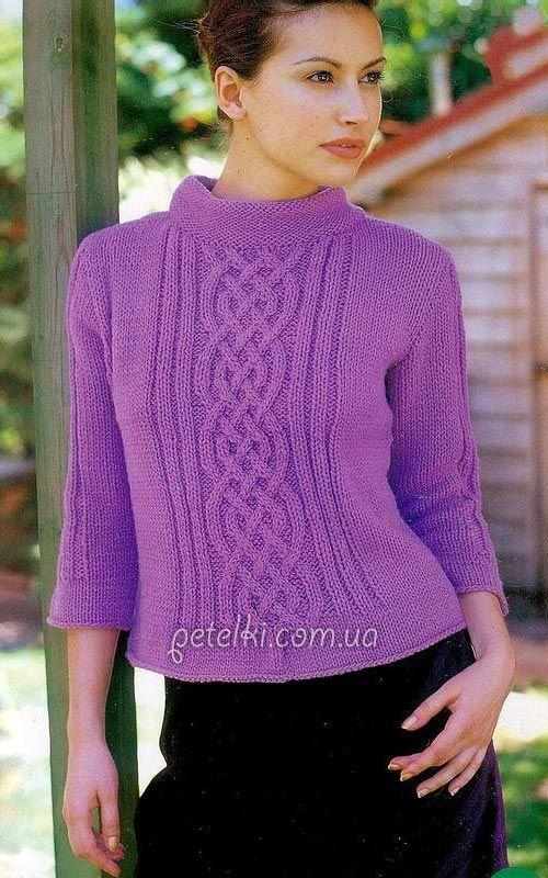 Вязание спицами knitting и схемы