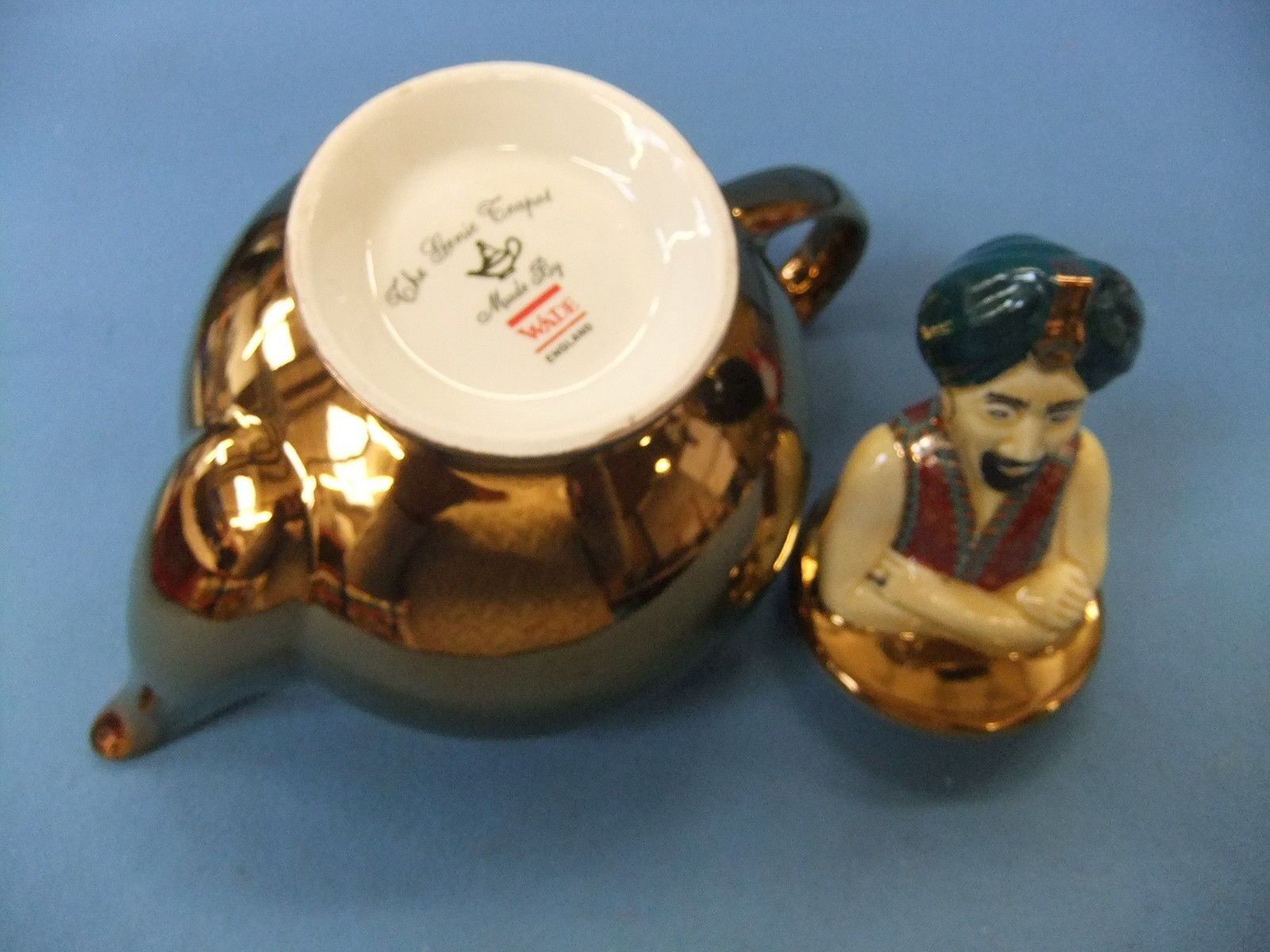 'The Genie Teapot' by Wade - The Earlier Copper Lustre Finish Collector's Teapot | eBay