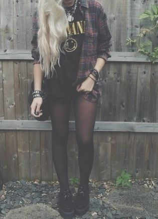 grunge fashion #90sgrunge