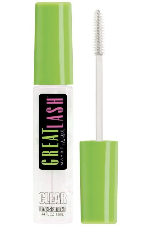 e6b5745b5a0 To make your lashes look longer and fuller without a tint, comb through a  glossy coat of Vaseline or clear mascara after curling them.