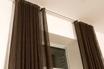 How to Convert Tab Back Curtains to Traverse Rod | How to hang ...