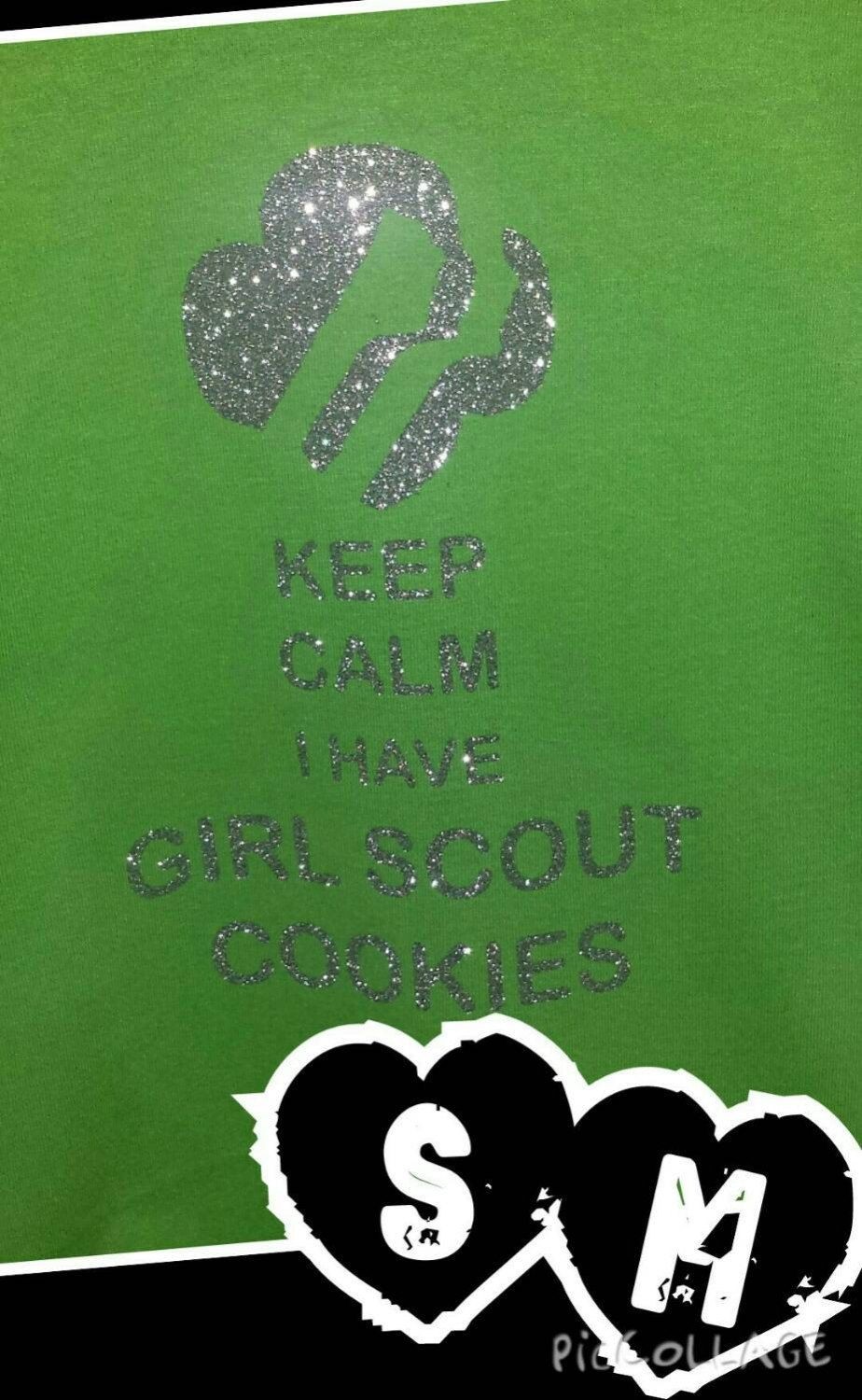Girl Scout Cookie Booth shirts by StacyMichelles on Etsy