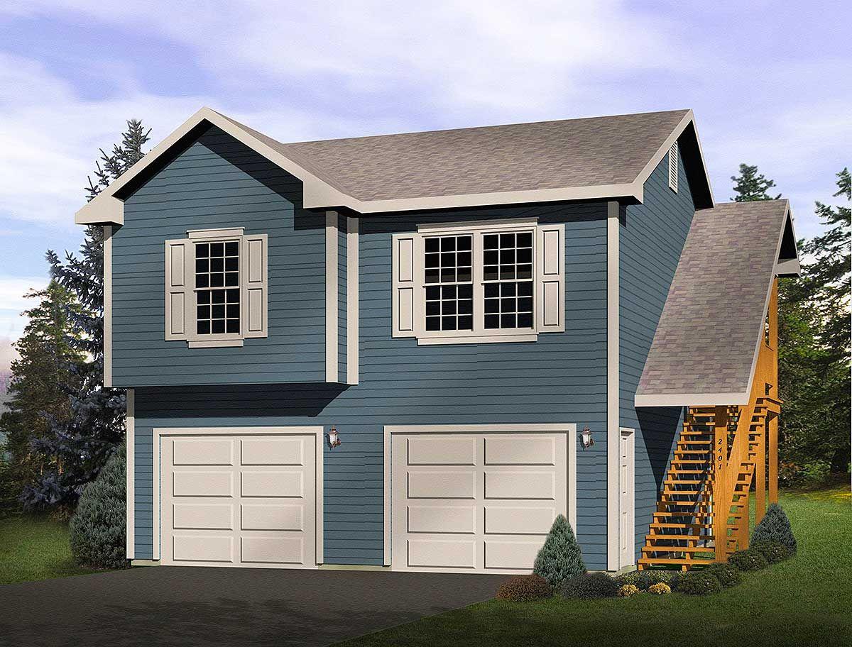 Plan 2241SL 2Car Garage Apartment in 2020 Exterior