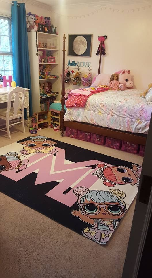 Little girl\'s bedroom! LOL Surprise Dolls carpet | LOL en ...