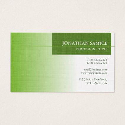 Elegant green nature environment protect luxury business card elegant green nature environment protect luxury business card simple clear clean design style unique diy reheart Images
