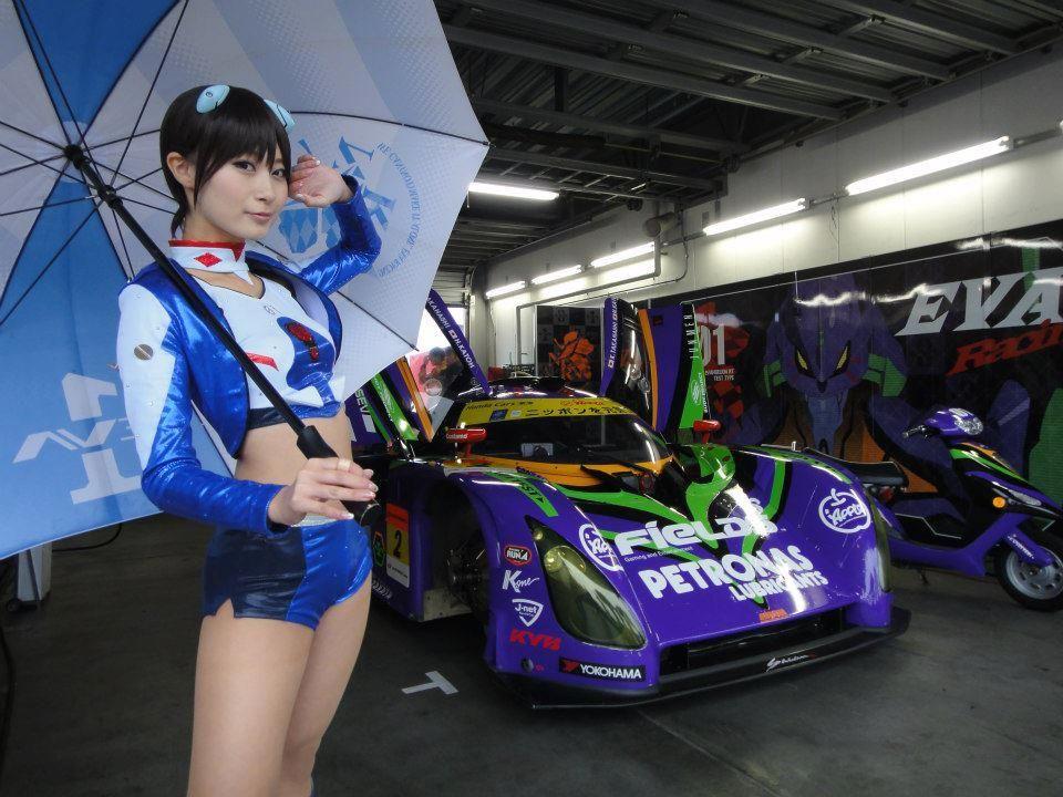 Race Cars & Race Girls of Evangelion RT Test-01 Petronas Shiden ...