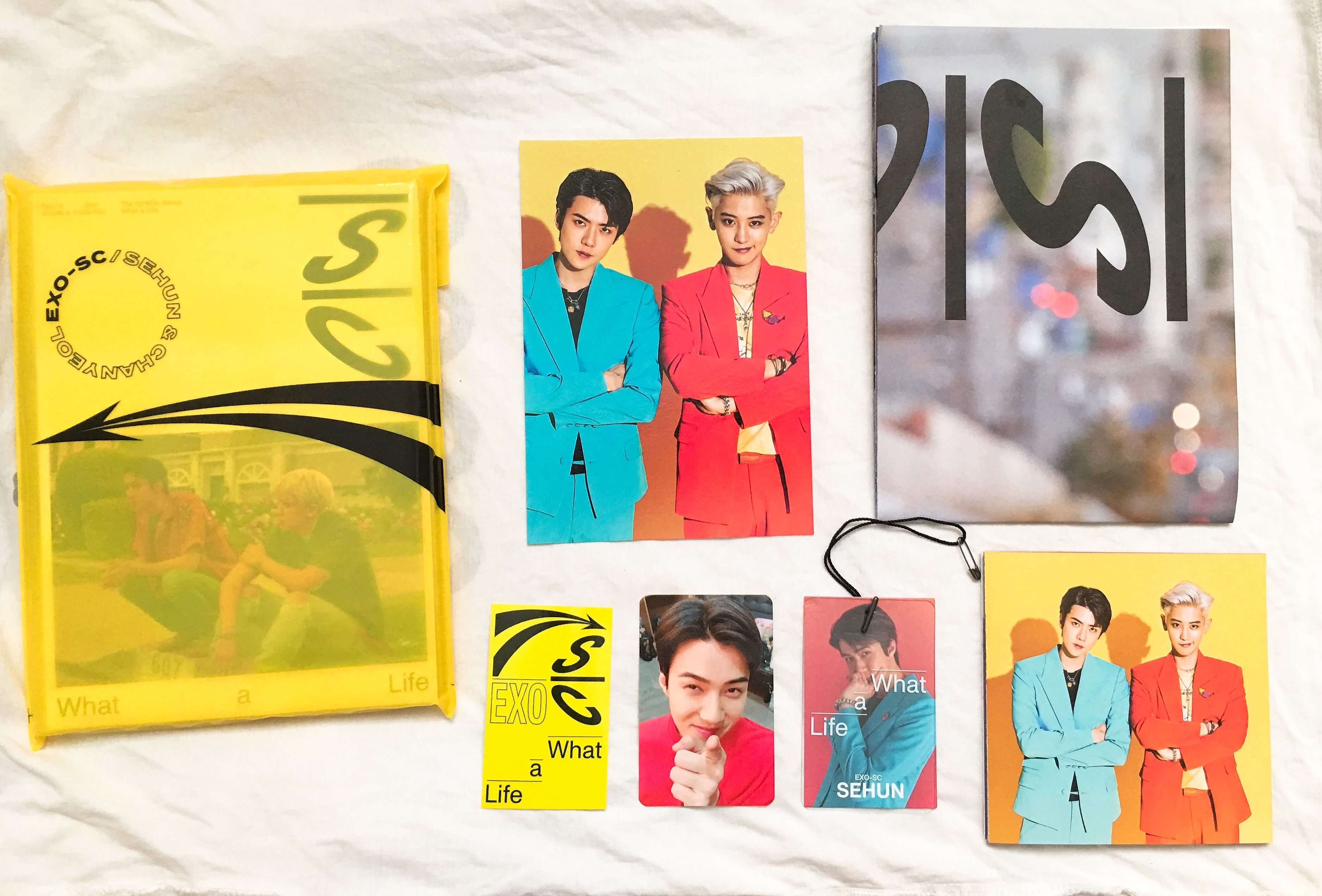 Exo Sc 1st Mini Album What A Life Y Ver