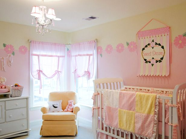 Large Playroom With Colorful Bean Bag Chairs Yellow Girls Room