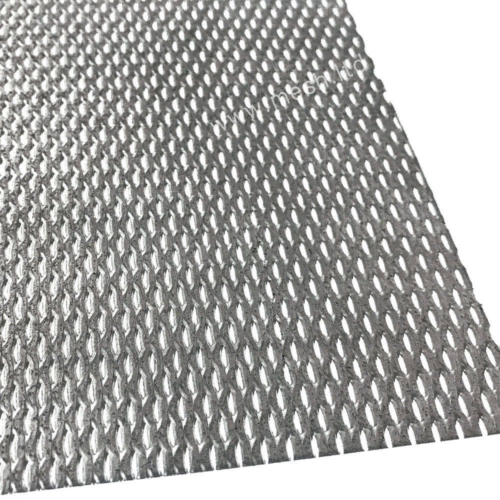 Pin on expanded metal mesh