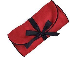 De Buena Calidad Cinta Essentials bolsa, bolsas de maquillaje personalizada, bolsas de cosméticos casos odm-f20 Venta