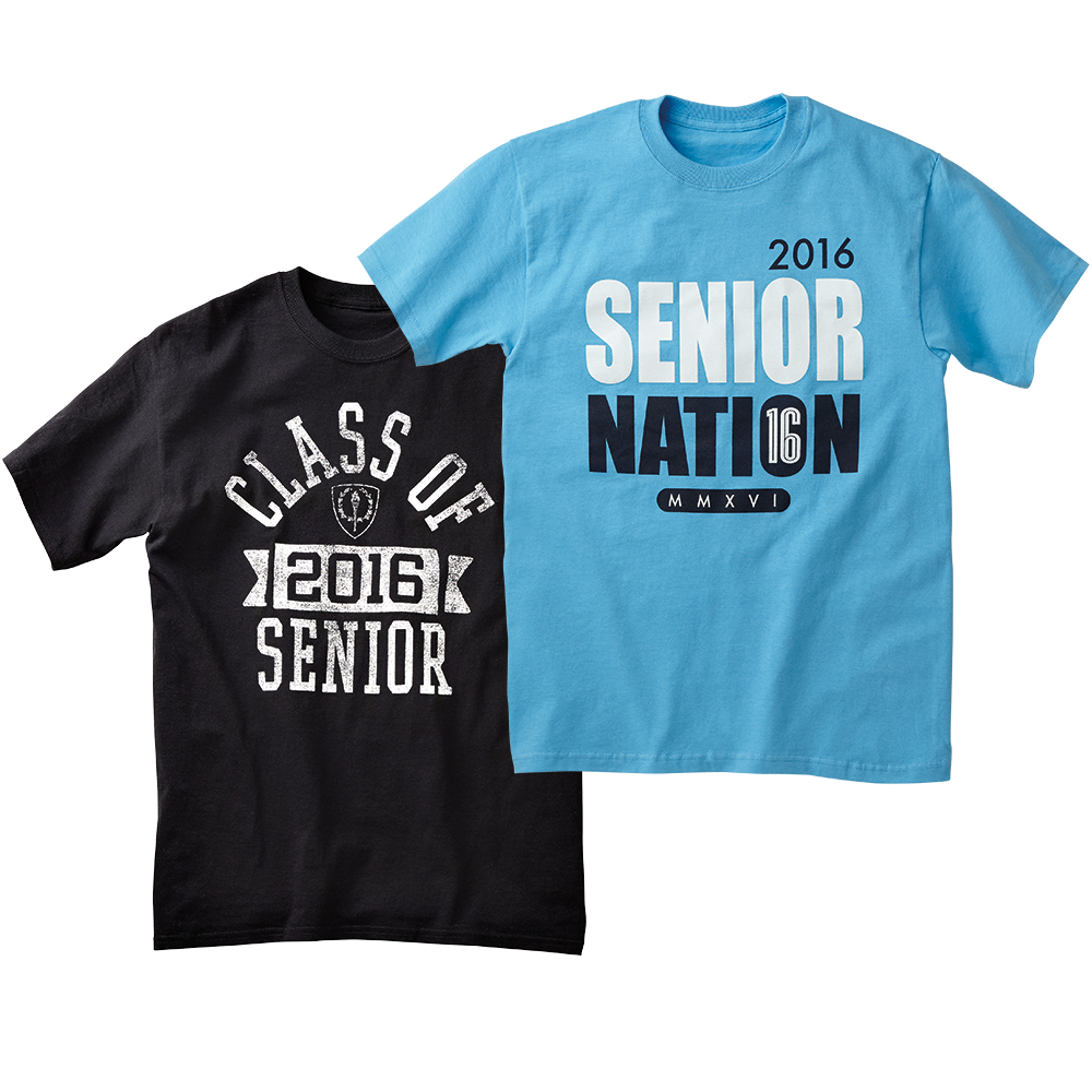"""""""Senior 2-Pack"""" Of Tees Is Only $22.95 Right Now @ Jostens"""