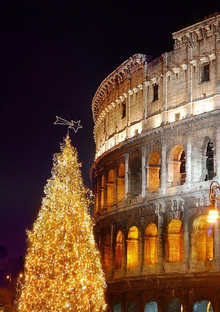 Buon Natale Italia.Christmas In Rome Natale Italiano Luoghi Meravigliosi Buon Natale