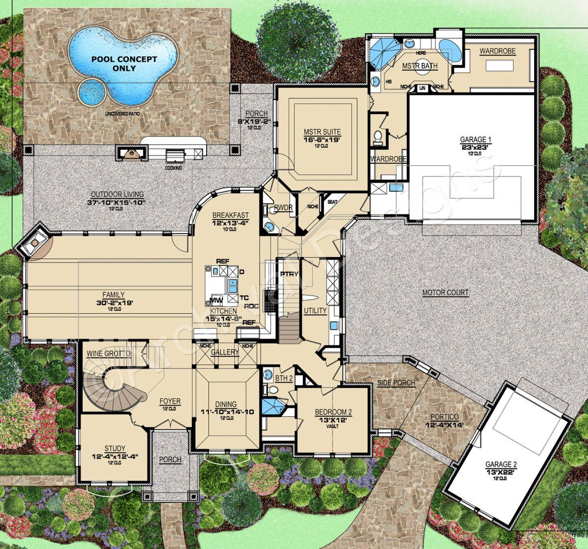 Augusta House Plan House Plans Texas House Plans How To Plan