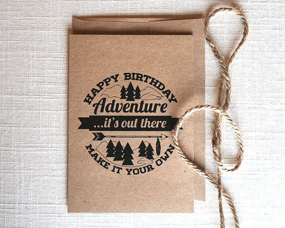 Unique Birthday Cards For Him ~ Great birthday card for your husband boyfriend or adventurous