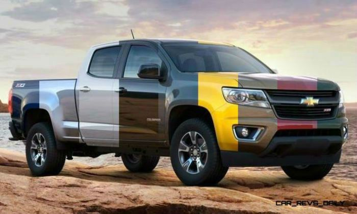2017 Chevrolet Colorado Colors   Chevrolet colorado, Chevy ...