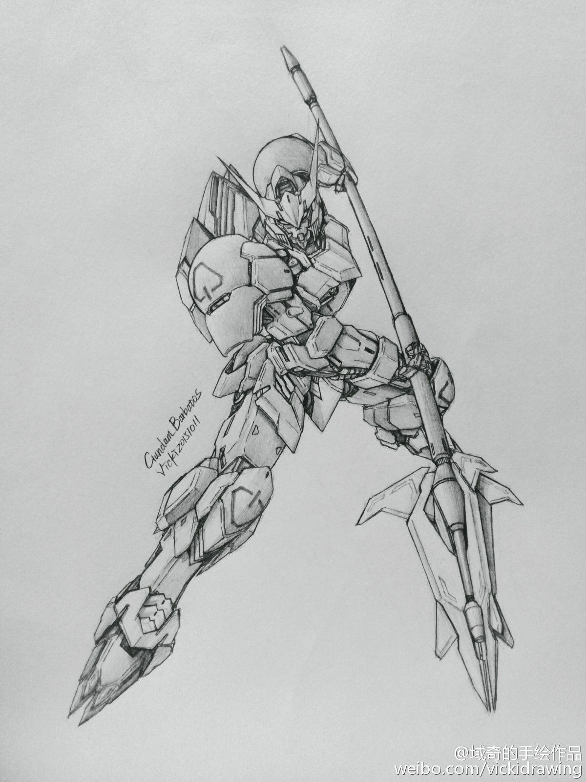GUNDAM GUY: Awesome Gundam Sketches by VickiDrawing [Updated 11/23/15]