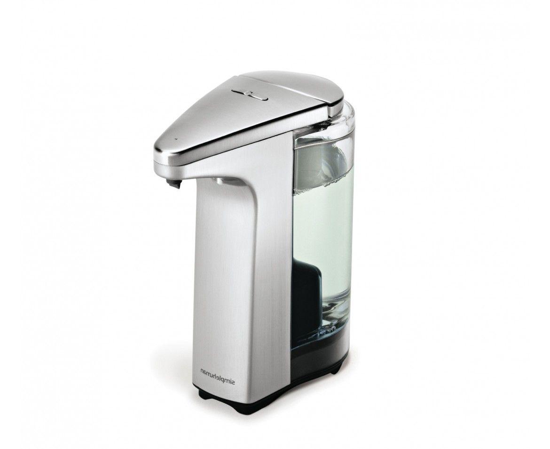 Sensor Pump Automatic Soap Dispenser Brushed Nickel Bathroom