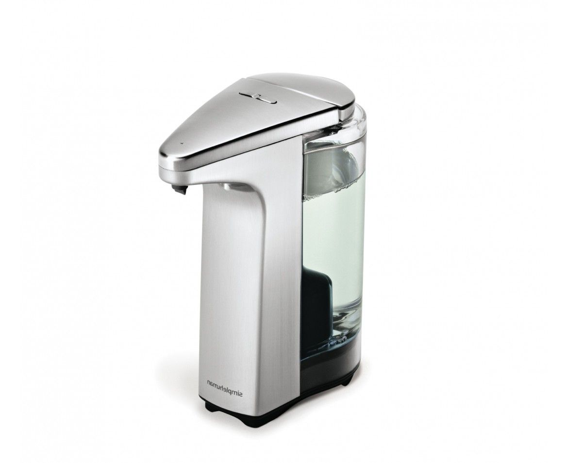 Sensor Pump Automatic Soap Dispenser Brushed Nickel Bathroom