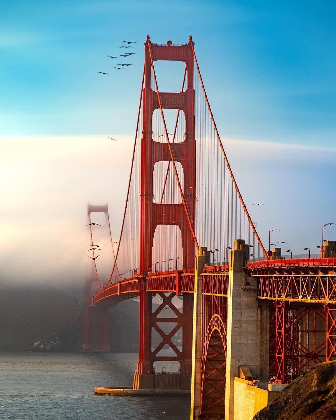 Golden Gate Bridge Usa In 2020 Golden Gate Bridge Golden Gate Sightseeing