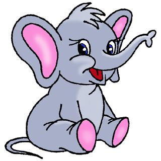 cute baby elephant cute cartoon clip art images all images are on a rh pinterest ca baby elephant clipart svg baby elephant clipart