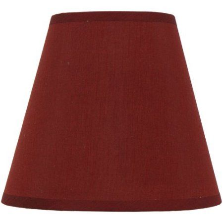 Mainstays Red Accent Lamp Red Accents Lamp Shade