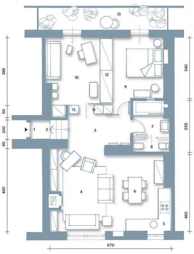 70 mq la casa migliora cos planimetrie appartamenti for Cose di casa progetti