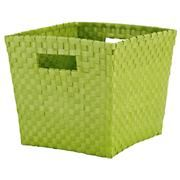 Kids' Storage Containers: Kids Canvas Cube Storage Bin in Tabletop Storage  from Landofnod.com