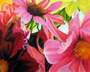 floral paintings on canvas - Bing Images
