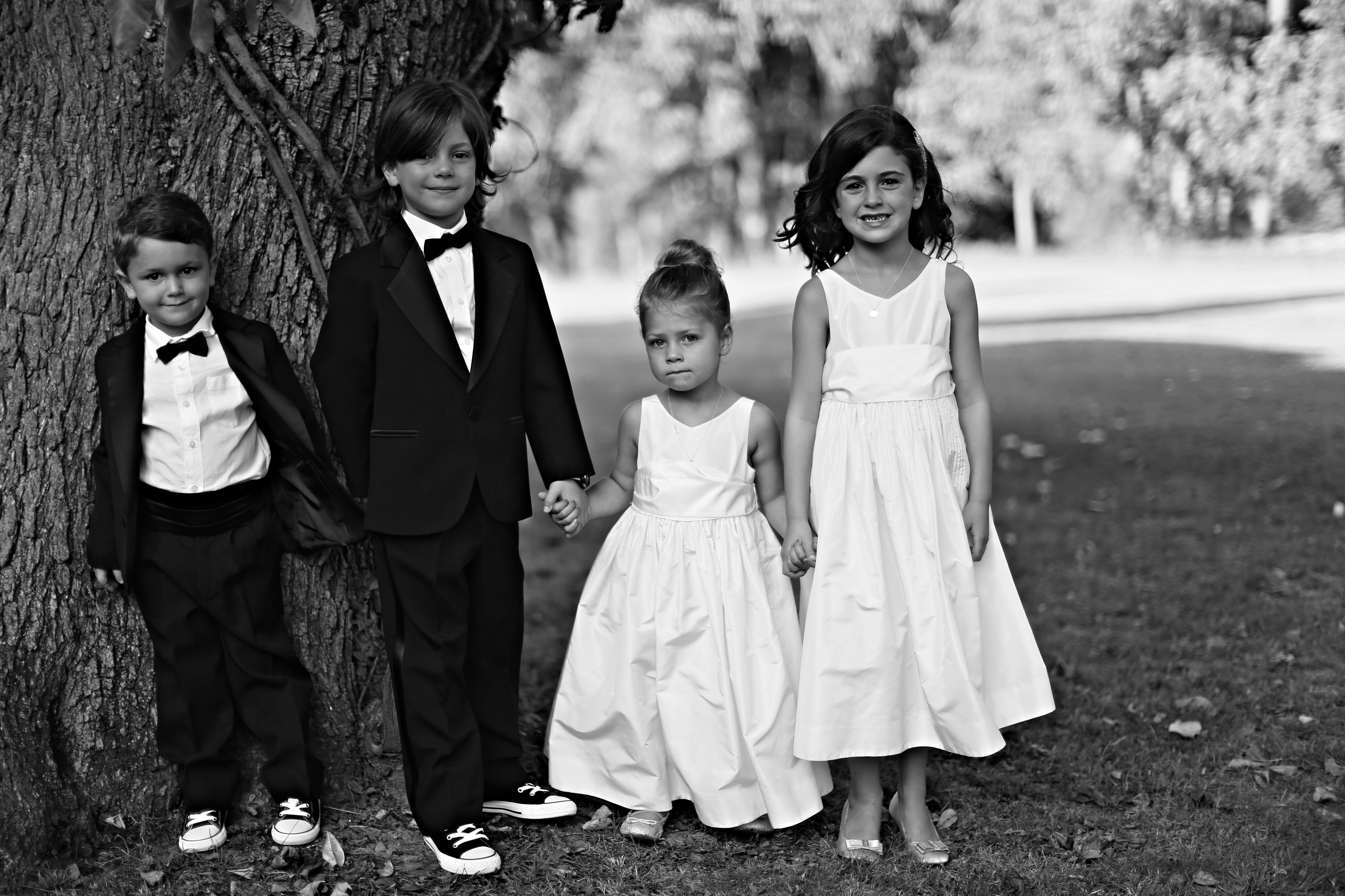 The little bridal party!