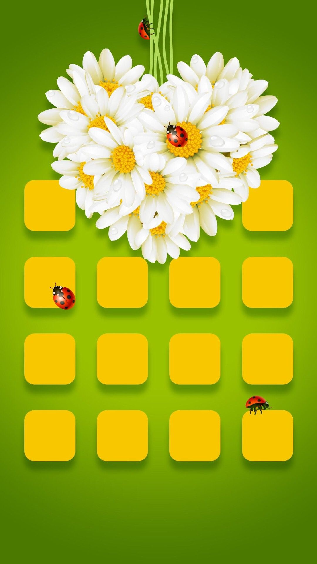 TAP AND GET THE FREE APP! Shelves Lovely Сamomile Heart