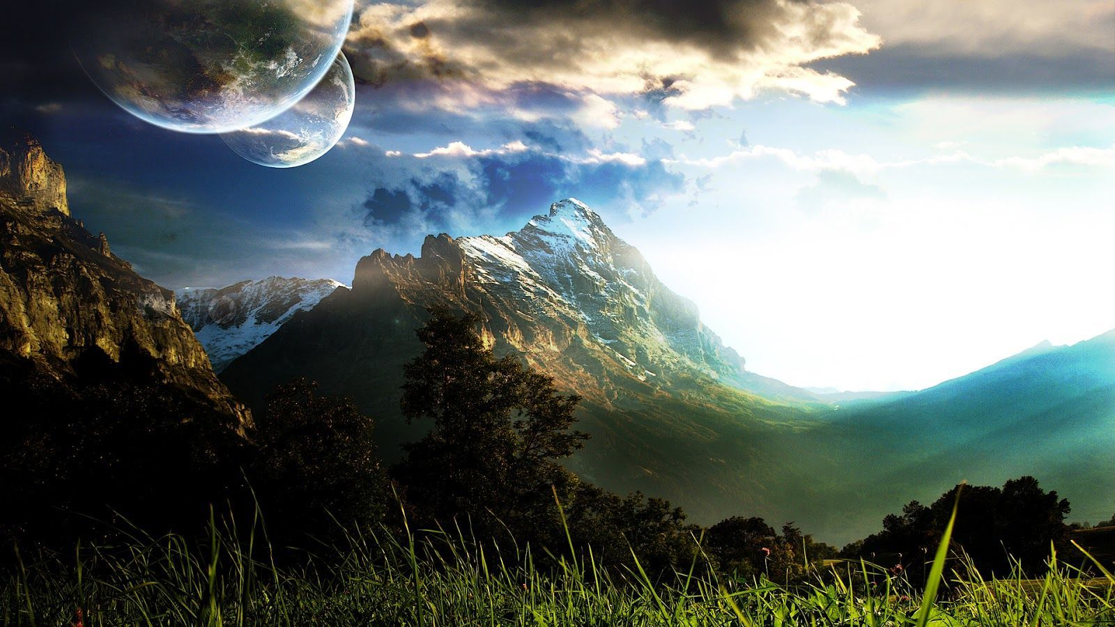 Providing You Widescreen High Defination Hd Wallpapers For Desktop Widescreen Choose One Of The Best Wal Landscape Wallpaper Nature Wallpaper Planets Wallpaper