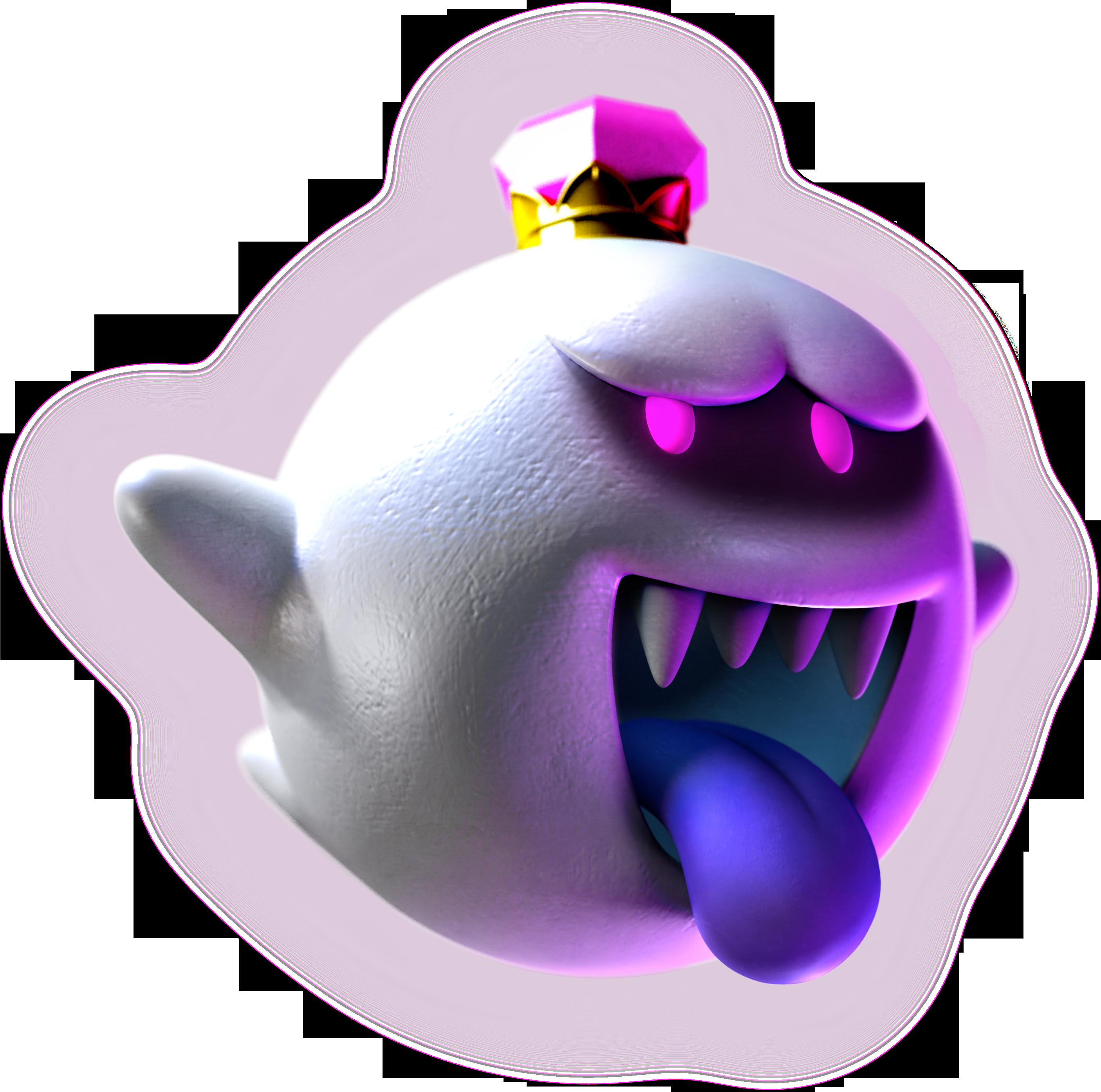 Found On Bing From Smashboards Com King Boo Dark Moon Boo