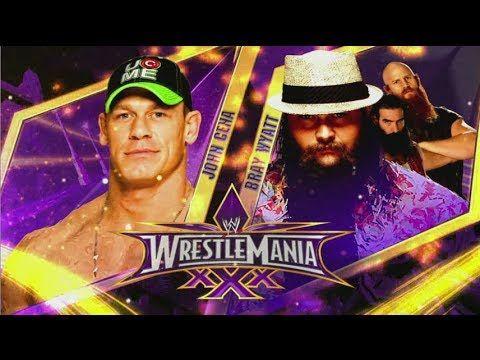 WrestleMania 30 - John Cena vs Bray Wyatt