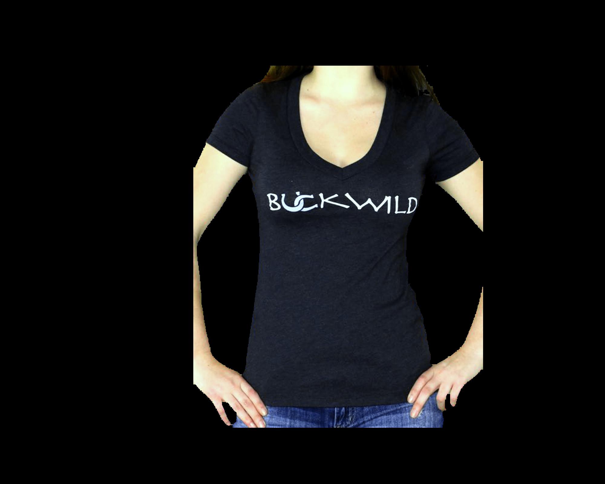 T-Shirt - Deep V-Neck