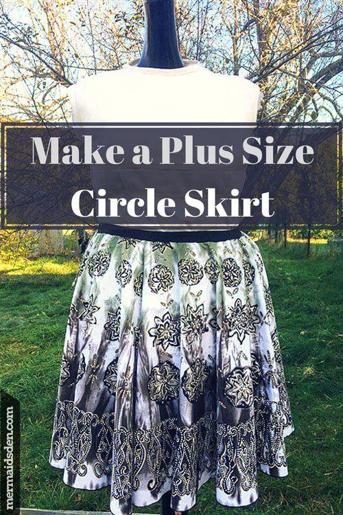 Nov 5 Make A Plus Size Circle Skirt: Part Two | Sewing Favorites ...