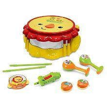 """Fisher Price Ensemble d'instruments à percussion Lion - Kids Station - Toys""""R""""Us"""