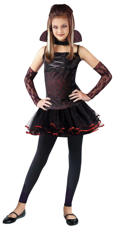 Vampira Fantasia menina, Fantasias para adolescentes